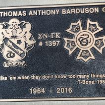 Alumni Thomas Anthony Barduson, 1964 - 2016